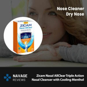 Zicam Nasal AllClear Triple Action Nasal Cleanser with Cooling Menthol